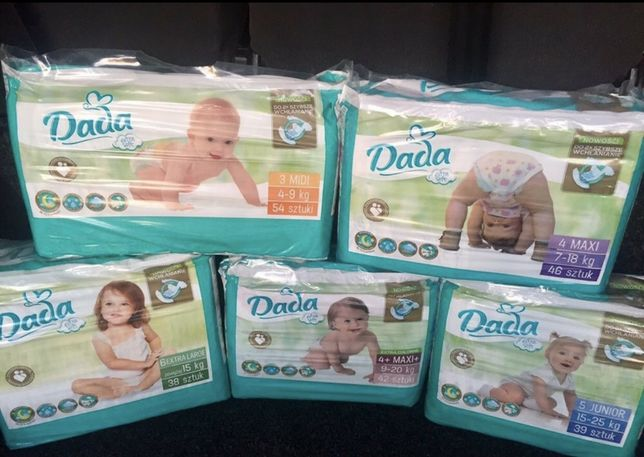 Дада Dada Premium extra soft, premium. 1,2,3,4,4+,5,6