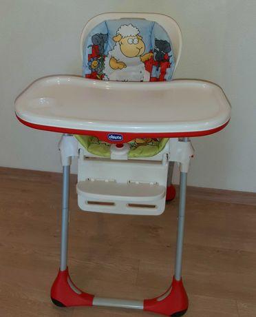 Детский стульчик для кормления «Chicco Polly 2 в 1»
