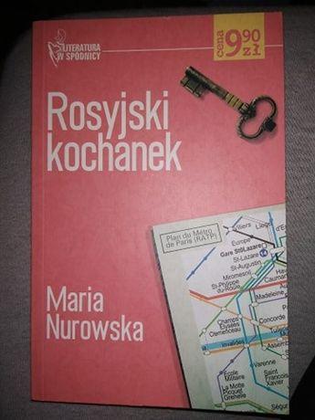 """Rosyjski kochanek"" Maria Nurowska"