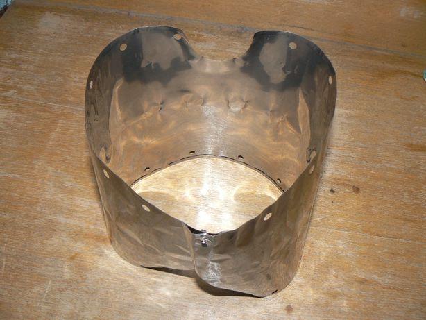 Ультралегкая титановая ветрозащита для кастрюль диаметром до 15см