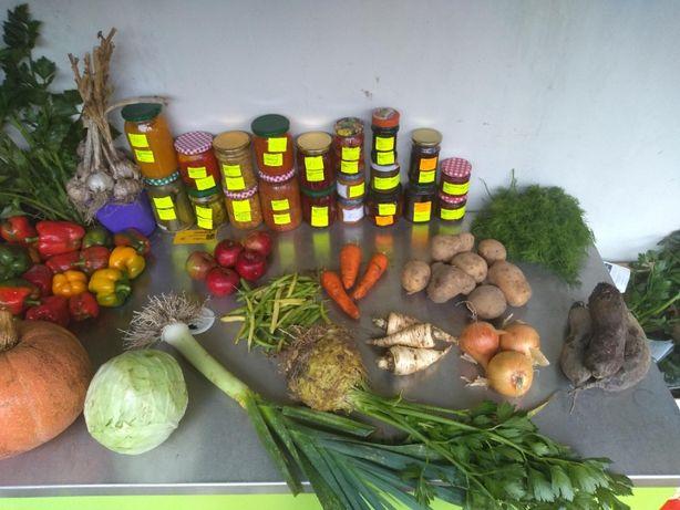 Warzywa, przetwory domowe, jajka, gęsi, perliczki, kaczki.. zapraszam