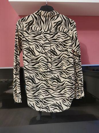 Koszula damska zebra H&M