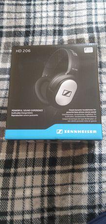 Sprzedam słuchawki Sennheiser HD 206 na gwarancji.