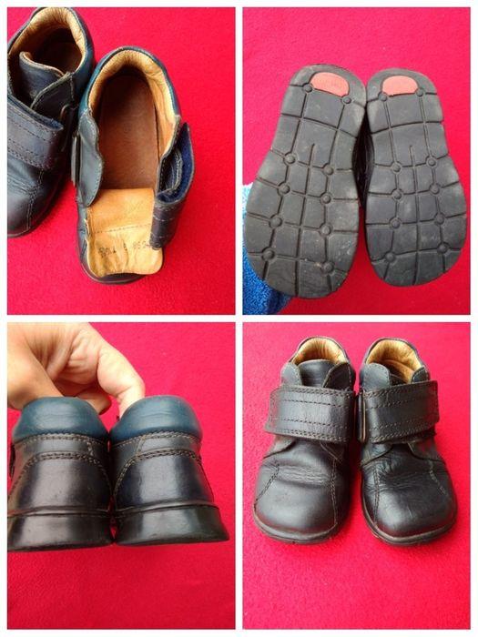 Кожаные ботинки стелька 16 см. Жмеринка - изображение 1