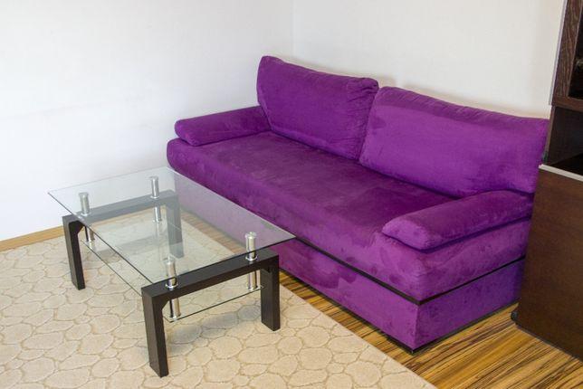 Sofa rozkładana z funkcją spania - bardzo wygodna