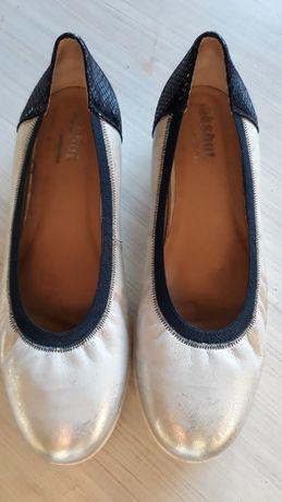 Skórzane buty firmy Eksbut.