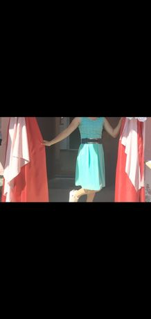 Платье     40-42 р бирюзовое