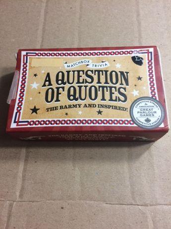 игра на английском A question of quotes