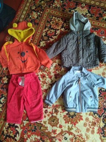Пакет вещей мальчик 1,5-2,5 года