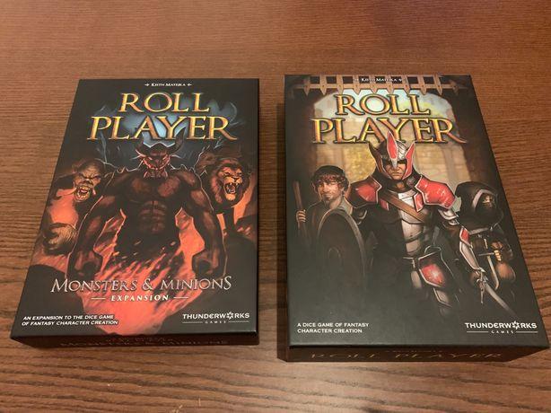 Roll Player - jogo base + expansão Monsters & Minions