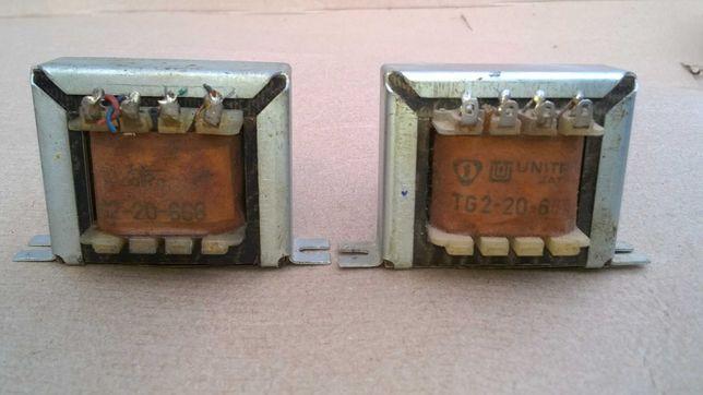 transformatory głośnikowe TG 2-20-666
