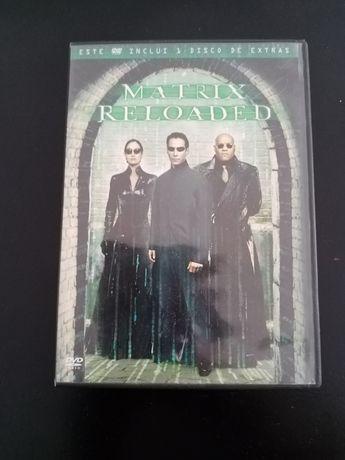 Dvds matrix reloaded original. 2 Dvds.