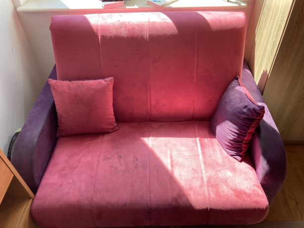 Kanapa sofa łóżko młodzieżowe + biurko