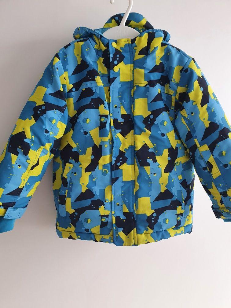Kurtka i spodnie narciarskie dla chłopca rozmiar 98 plus gratis