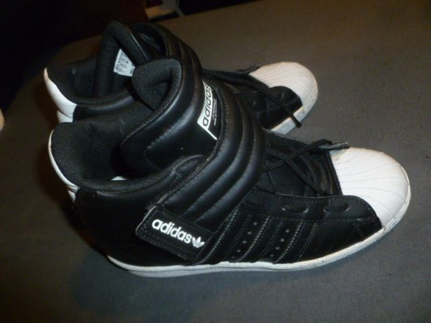 sneakersy koturny Adidas superstar up s.81350 roz.38 1/2
