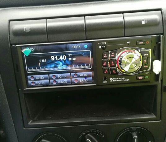 "Radio samochodowe 1din 4"" MP3 video bluetooth kamera cofania"