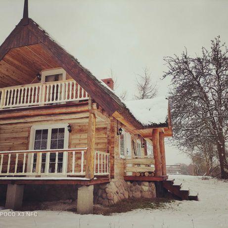 Wynajmę drewniany domek
