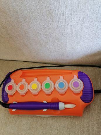 Набор красок краски crayola magic brush волшебная кисточка крайола