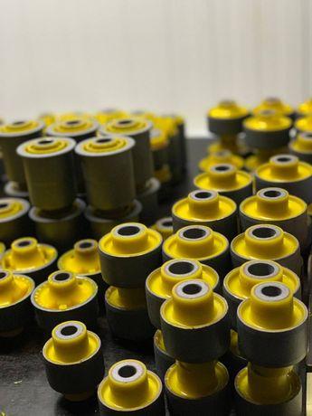 Полиуретановые сайлентблоки Audi,BMW,Ford,Skoda,Honda,Opel,Toyota,KIA