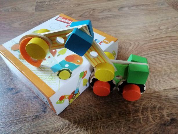 Ekologiczne zabawki - zestaw drewnianych zabawek dla małych dzieci