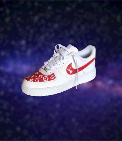 Nike Air Force 1 ( LOUIS VUITTON EDITION )