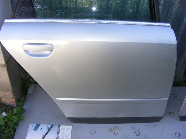 Drzwi prawy tył LY7W Audi A4 B6 kombi Avant kompletne