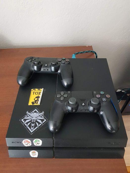 Konsola PS4 1TB + 1 pad i 10 gier Myszyniec - image 1