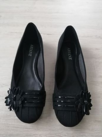 Czarne balerinki 36
