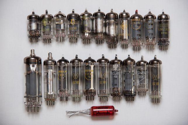 lampa ecc81 ecl86 ez81 z573m el84 i wiele innych