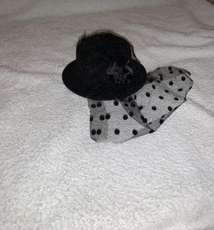 Шляпка с вуалью, головной убор, украшение, аксессуар, заколка, 60е