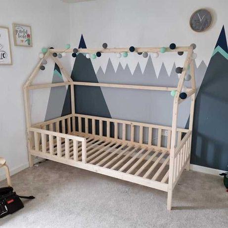 łóżko dla dzieci drewniane, łóżko house bed, łóżko domek, łóżka