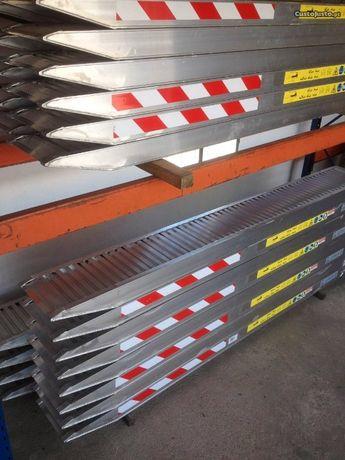 Rampas de aluminio 3.5 mts novas