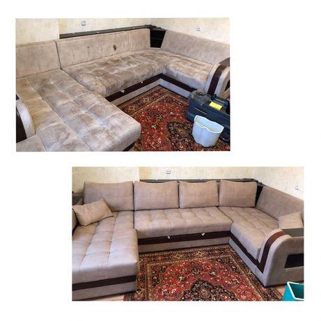 Химчистка мебели дивана ковролина матрсов штор стульев Почистить пуфик