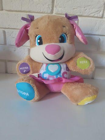 Edukacyjna zabawka fisher Price siostra szczeniaczka