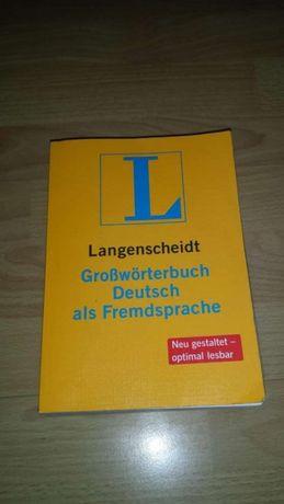 Langenscheidt Großwörterbuch Deutsch als Ftemdsprache słownik