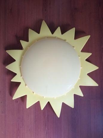 Lampka słoneczko Ikea żółta