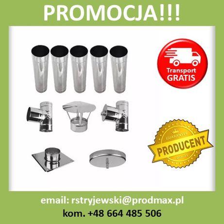 PROMOCJA !!! Wkład Do Komina KWASOODPORNY FI 150 5MB Zestaw Producent