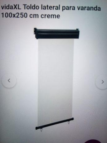 Toldo varanda 120cm ×250cm