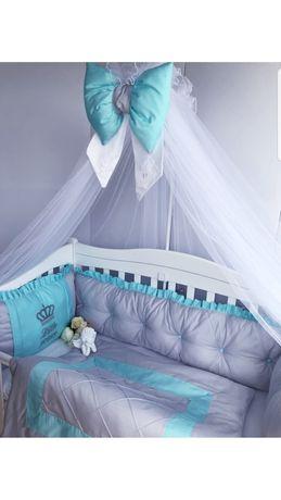 Комплект в детскую кроватку, бортики