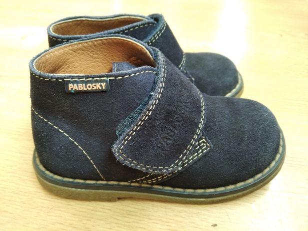 Туфли ботинки Pablosky Паблоски на весну мальчику