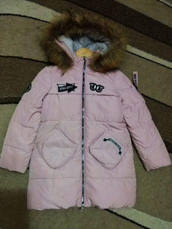 зимнее пальто Kiko 122 -128 р