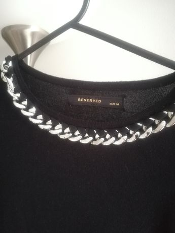 Czarny sweter Reserved 38