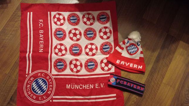 Mini flaga czapka zimowa opaska zimowa Bayern Monachium