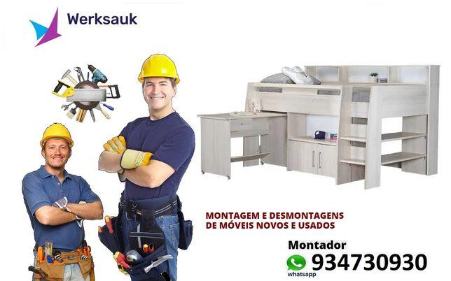 Montagem e Desmontagem de Mobiliário Móveis Novos e Usados