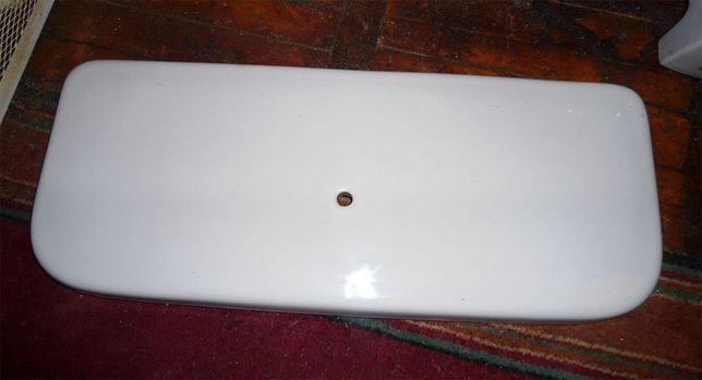 Крышка на сливной бачок для унитаза 52,7х21,7 см, керамика, белая