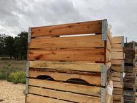 Palotes madeira 110 x 110 x 70