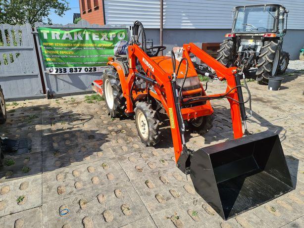 Mini traktor Kubota B52,ładowacz czołowy