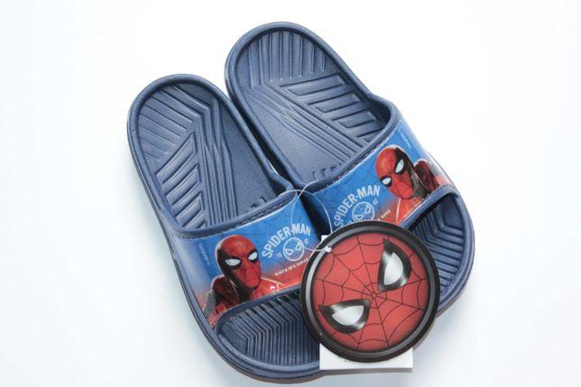 Marvel Spiderman klapki chłopięce rozm 27-28