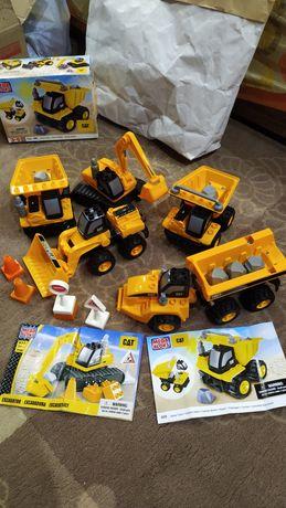 CAT Mega Bloks набор техники 5 единиц