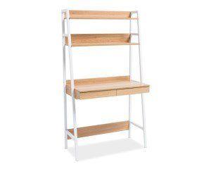 OLSEN B – wysokie biurko biurko z półkami biurko loftowe DOWÓZ GRATIS